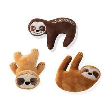 Fringe Studio Minis Basic Sloths 3-Piece Plush Dog Toy Set