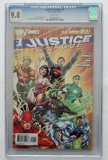 Justice League #1 CGC 9.8   DC Comics October, 2011   JIM LEE!!! GORGEOUS!!!