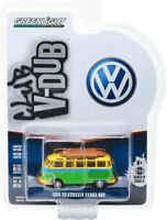 1:64 GreenLight *CLUB V-DUB R6* SCHOOL BUS 1964 Volkswagen VW Samba Bus NIP