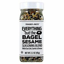 Trader Joe's Everything but the Bagel Sesame Seasoning Blend Spice Flavor 2.3 oz