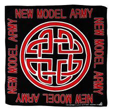 k002 - New Model Army Keltisches Knoten Muster Kopftuch Bandana Halstuch Tuch