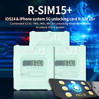 R-SIM15+ 15 Nano Unlock RSIM Card Fit for iPhone 12 Pro 12 PRO MAX XS XR IOS 14