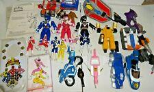 Power Rangers vintage 1990s huge lot! Megazord figures parts accessories weapons