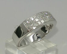 Princess Eternity White Gold VS1 Fine Diamond Rings