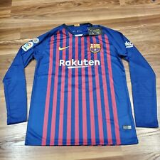 NIKE Messi Barcelona Home '18 Jersey Long Sleeve