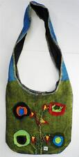 T401 FASHION TRENDY SHOULDER STRAP COTTON BAG  MADE IN NEPAL