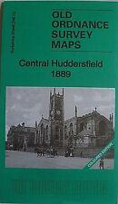 Old Ordnance Survey Detailed Map Central Huddersfied Coloured Ed 1899 Sh 246.15