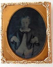 AMBROTYPE PHOTO Georges D. HAMILTON BOSTON 68 court street ENFANT O836