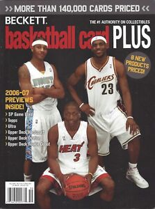 LeBron James on Cover Beckett NBA Basketball 2006 Fall Issue