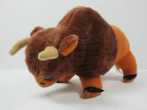 Vintage Dakin Dream Pets 1975 Buffalo Bison plush retro decor toy