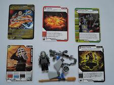 LEGO Ninjago  9551 Kendo Cole  kpl.  +  5 Original Trading Cards Spielkarten TOP