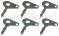 6x IGNITION KEYS FOR TRACTOR JCB PLANT APPLICATIONS LUCAS 35670 IGNITION SWITCH