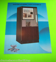 406 SOFT DRINK BEVERAGE VENDOR MODEL By 1981 ORIGINAL NOS SALES FLYER BROCHURE