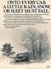1971 Volvo 140 144 Original Advertisement Print Art Car Ad J811