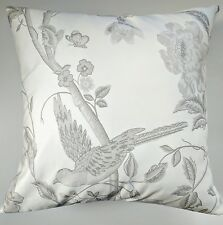 """Shabby Chic Cushion Cover in Laura Ashley Summer Palace Dove Grey 16"""""""