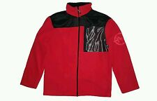 Nautica Competition Men's Fleece Jacket Deck Red Size XL NWT