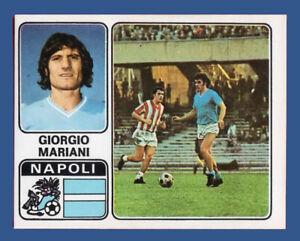 FIGURINA CALCIATORI PANINI 1972/73 - RECUPERO - N.238 MARIANI - NAPOLI