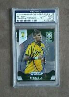 2014 Panini Prizm World Cup Neymar Jr Autograph PSA/DNA Certified Authentic Auto