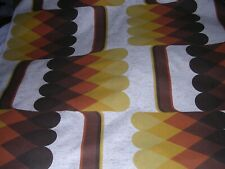 677J Vintage MID CENTURY MODERN Drapery Fabric 48 Wide x 4 Yards