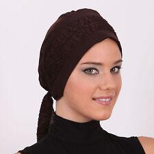 US Seller NEW Women Bonnet Cancer Chemo Hijab Turban Cap Beanie Hat Scarf Lace