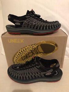 Keen Uneek Flat Black/Bossa Nova Sport Sandal Men's Sizes 7-14/NEW!!!