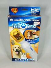 Pedi Paws Pet Nail Trimmer Grinder Tool Care Clipper Beauty for Dog / Cat