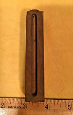 Vintage Wood Number 0 Zero Letterpress Printer Art Block Type 4 X 34 Wide