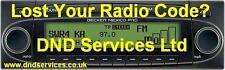 Becker Radio Code Decode Unlock by Serial Number - MEXICO CASS CC CD PRO MD 2000