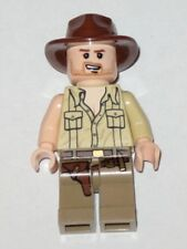 LEGO 7199 - INDIANA JONES - Indiana Jones, Open Shirt, Grin - MINI FIGURE