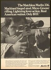 Vintage 1971 ad for the Marlin 336 lever action Rifle