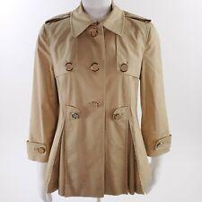 Tory Burch Womens Size 8 Med Khaki Eamin Coat Jacket 33081505
