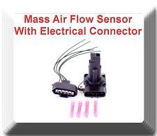 Mass Air Flow Sensor W / Connector Fit:Jaguar Lexus Mazda Pontiac Scion Toyota