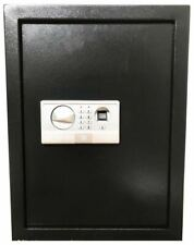 FINGERPRINT BIOMETRIC ELECTRONIC RECESSED HIDDEN WALL SAFE SECURITY BOX GUN CASH