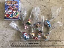 Doraemon Key Chain Figure Set Of 8 Bandai -anime