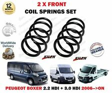 FOR PEUGEOT BOXER 2.2 3.0 HDI VAN BUS 2006--> NEW 2 X FRONT COIL SPRINGS SET