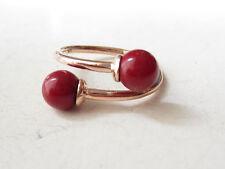 925 Sterling Silver Rose Adjustable Ring