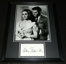 Louis Jourdan Signed Framed 11x14 Photo Display Can Can Octopussy