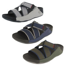 Fitflop Mens Sling II Webbing Slide Sandals