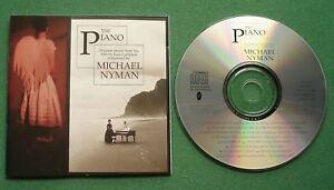 The Piano Original Music from Film Michael Nyman CD