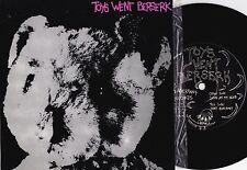 Toys Went Beserk ORIG OZ PS 1st 45 Don't run away NM 1986 Post Punk Aberrant