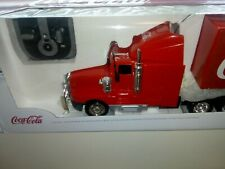 More details for coca cola remote control christmas toy truck (large 70cm)