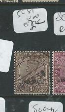 INDIA JIND  (P3107B) 1 A  KGV SG81     VFU