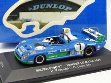 Ixo 1/43 - Matra Simca 670B Gitanes Winner Le Mans 1974 N°7