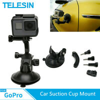 TELESIN Car Suction Cup Adapter Mount Tripod for GoPro Hero 9 8 7 6 Osmo Action