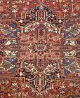 Terrific Tribal - 1920s Antique Oriental Rug - Nomadic Carpet - 9.6 x 11.4 ft.