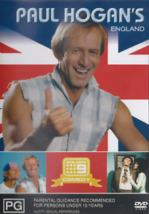 PAUL HOGAN'S ENGLAND DVD 1983 NEW Region 4 RARE Paul Hogan Australian Icon 1980s