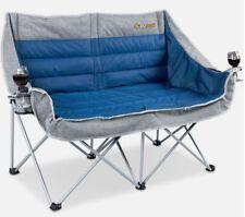 OZtrail Galaxy 2 Seater Chair - Blue