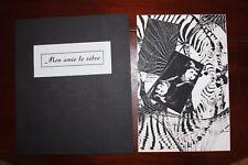 ✒ Pierre PEUCHMAURD & Véronique KECZKOWSKA Mon Amie le zèbre 1983 EO 1/50 RARE
