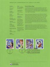 #4192-95 41c The Art of Disney: Magic USPS #0734 Souvenir Page
