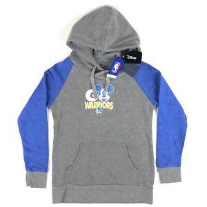 Golden State Warriors Disney NBA Fanatics Womens Small Mickey Hoodie Sweatshirt
